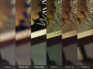 iPhone Cameras Comparision